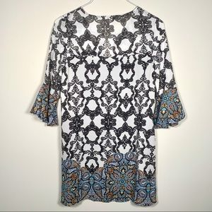 Speechless Dresses - NWT SPEECHLESS Boho Chic Bell Sleeve Dress S